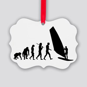 Windsurfing Evolution Ornament
