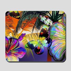 Tropical Butterflies Mousepad