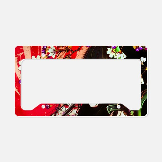 Geisha License Plate Holder