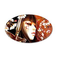 Geisha Wall Sticker