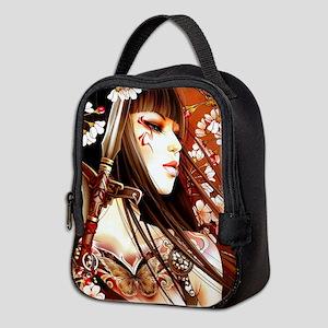 Geisha Neoprene Lunch Bag