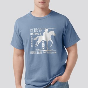 I'd End Up Marrying A Horse Lady T Shirt T-Shirt