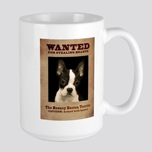 WANTED: The Bouncy Boston Terrier Mugs