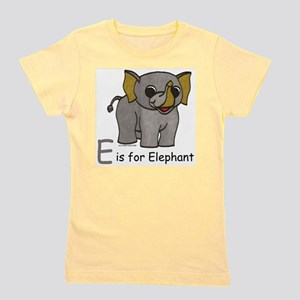 E is for Elephant Women's T-Shirt