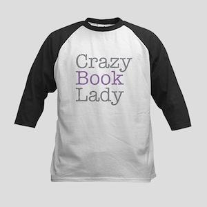 Crazy Book Lady Baseball Jersey