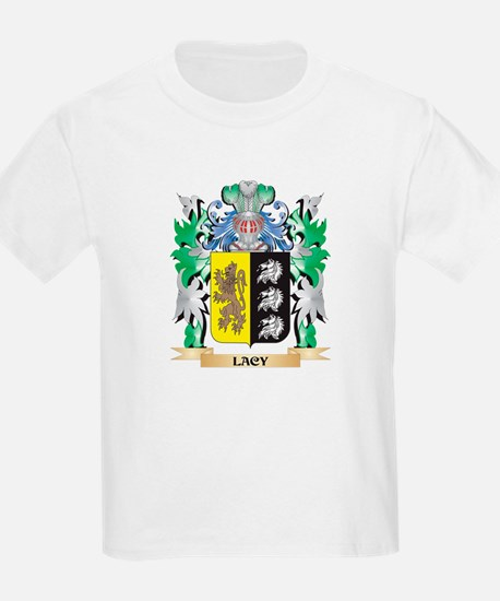 Lacy Coat of Arms - Family Crest T-Shirt