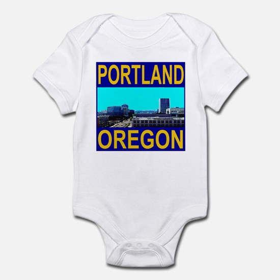 Portland, Oregon Infant Bodysuit