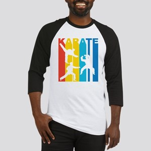Vintage Karate Graphic T Shirt Baseball Jersey