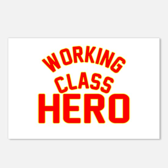 WORKING CLASS HERO Postcards (Package of 8)