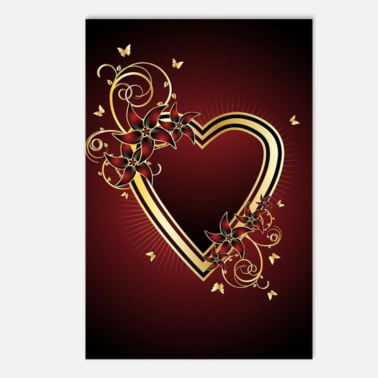 Classic Heart Postcards (Package of 8)