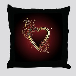 Classic Heart Throw Pillow