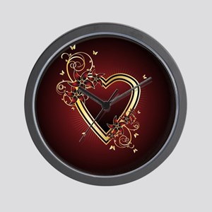 Classic Heart Wall Clock
