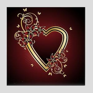 Classic Heart Tile Coaster
