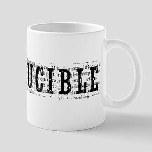 Crucible Logo White Mugs