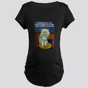 Bah Humbug For Life Maternity T-Shirt