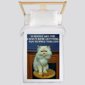 Bah Humbug For Life Twin Duvet Cover
