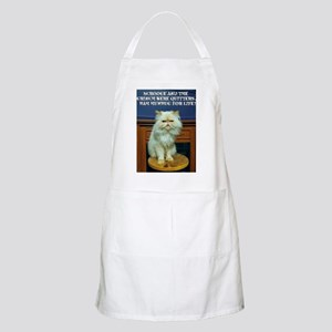 Bah Humbug For Life Light Apron