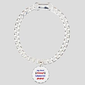 My Best Friend Toy Manch Charm Bracelet, One Charm