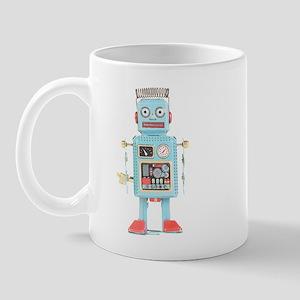 Classic Tin Robot Mug
