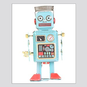 Classic Tin Robot Small Poster