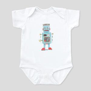 Classic Tin Robot Infant Bodysuit