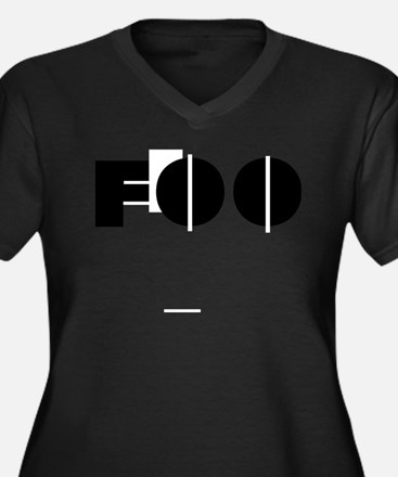 Foo Plus Size T-Shirt