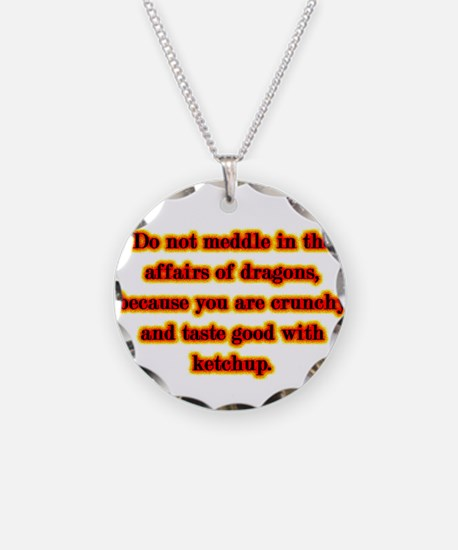 Dragon Warning Necklace