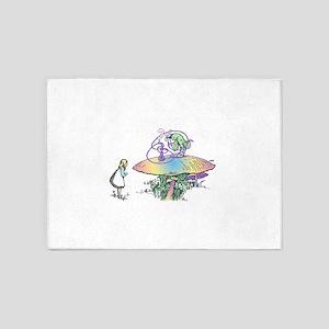 Magic Mushroom 5'x7'Area Rug