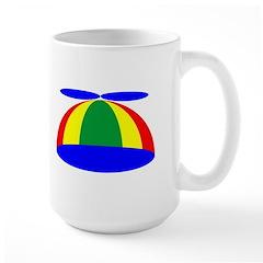 Geek Beanie Large Mug