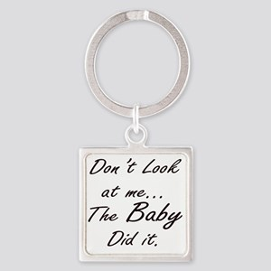 Blame Baby (Black) Keychains