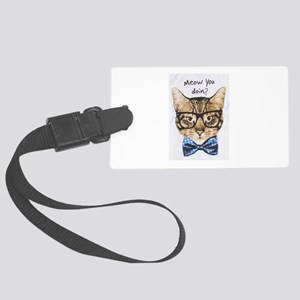Meow you Doin? Large Luggage Tag