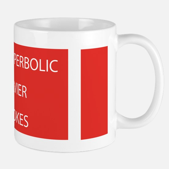 Hyperbolic Navier-Stokes: Mug Mugs