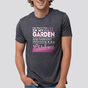 I Just Want To Work In My Garden T Shirt T-Shirt