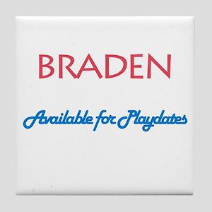 Braden - Available for Playda Tile Coaster