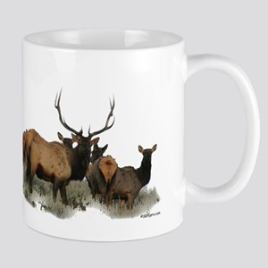 Trophy bull elk 2 Mugs