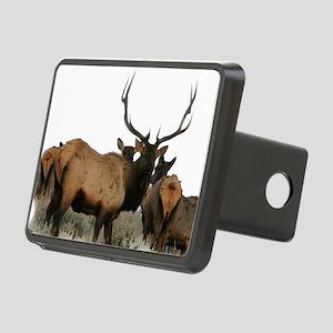 Trophy bull elk 2 Rectangular Hitch Cover