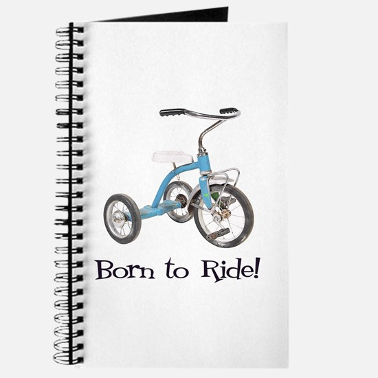 Born to Ride Tricycle Journal