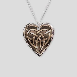 Celtic Heart Necklace Heart Charm