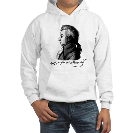 Wolfgang Amadeus Mozart Hooded Sweatshirt