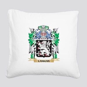 Lanigan Coat of Arms - Family Square Canvas Pillow