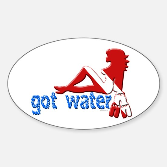 Got Water Oval Decal