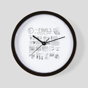 Finals Wall Clock