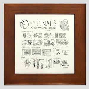 Finals Framed Tile