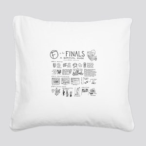 Finals Square Canvas Pillow
