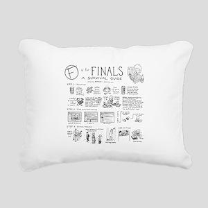 Finals Rectangular Canvas Pillow