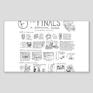 Finals Sticker