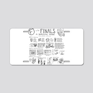 Finals Aluminum License Plate