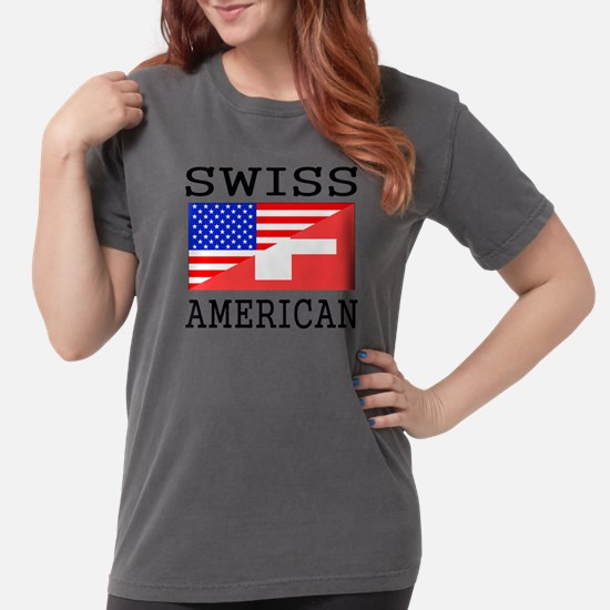 Swiss American Flag T-Shirt