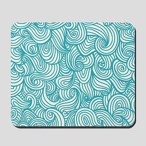 Waves Pattern Mousepad