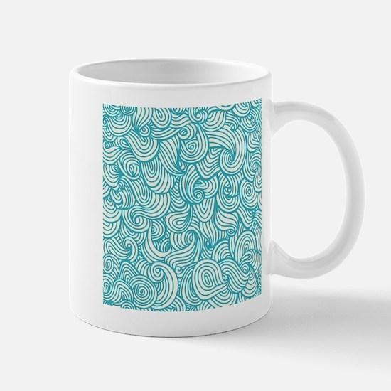 Waves Pattern Mugs